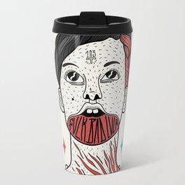 F**K BAD LUCK Travel Mug