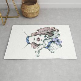 Orchid hat Rug
