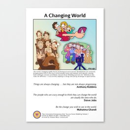 A Changing World Canvas Print