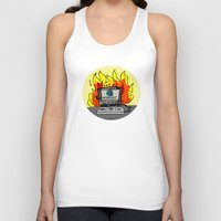 internet Tank Tops featuring Internet Exploder by illarterate