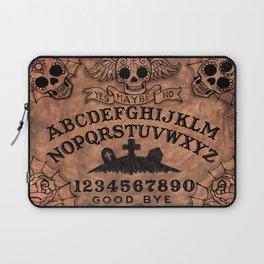 Sugar Skull ouija board Laptop Sleeve