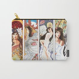 Art Nouveau collection Carry-All Pouch