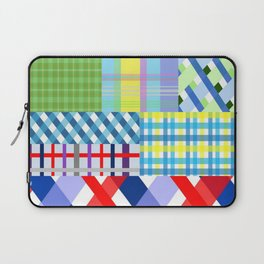 Crazy Plaid Spring Laptop Sleeve
