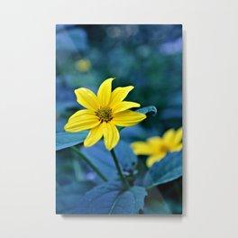 Sunshine Yellow Metal Print