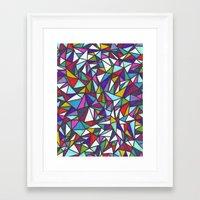 sparkle Framed Art Prints featuring Sparkle by Erin Jordan