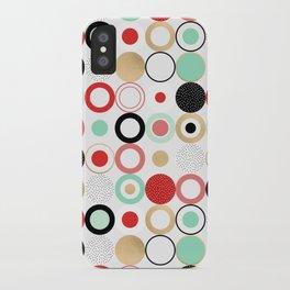 Summer Circles iPhone Case