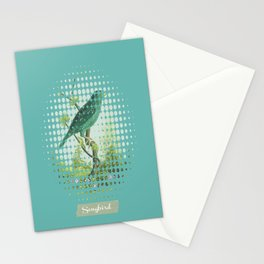 Songbird {Jade} Stationery Cards