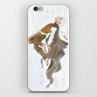 jack frost iPhone & iPod Skins featuring Jack Frost by becka_miller