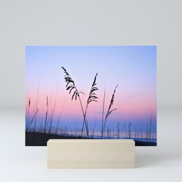 Sea Oats Sunrise Mini Art Print