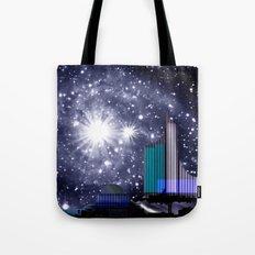 Wonderful starry night. Tote Bag