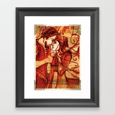 Taming of the Shrew  - Shakespeare Folio Illustration Art Framed Art Print