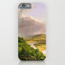 The Oxbow (Connecticut River near Northampton) by Thomas Cole iPhone Case
