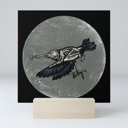 Hummingbird Skeleton: Skeletal Anatomy, Position 2 Mini Art Print