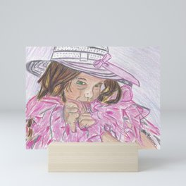 Boa Baby Mini Art Print