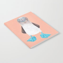 Blue Footed Booby Notebook