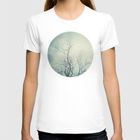 poem T-shirts featuring Winter Poem  by Laura Ruth
