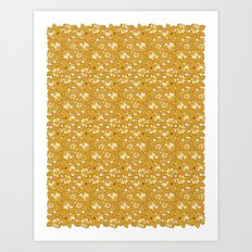 Rose pattern... Art Print