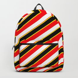 TEAM COLORS 1....... red, black,white,yellow Backpack