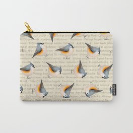 Tufty baeolophus Carry-All Pouch