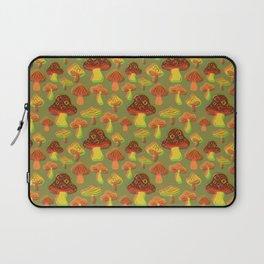 Mushroom Print in 3D Laptop Sleeve