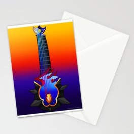 Fusion Keyblade Guitar #135 - Maeverick Flame & Abyssal Tide Stationery Cards