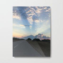Road to the Heavens Metal Print