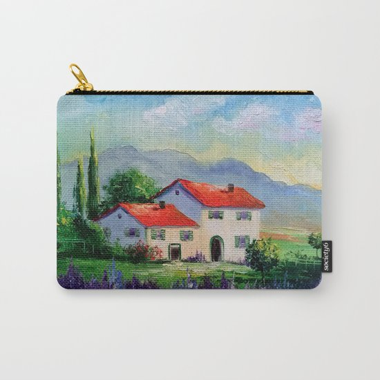 The beauty of Provence Carry-All Pouch