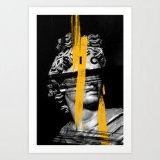 Head Sic Art Print