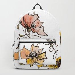 Flower Heart Backpack