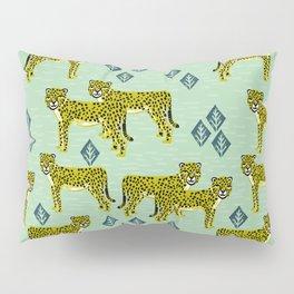 Cheetah safari nursery kids animal nature pattern print gifts Pillow Sham