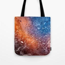 Vibrant Acrylic Texture Tote Bag