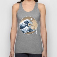 The Great Wave of Republic City Unisex Tank Top