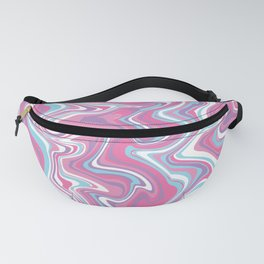 Marbled Pattern [Faux] Fanny Pack