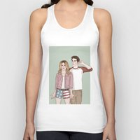 stiles Tank Tops featuring Malia Tate/Stiles Stilinski by vulcains