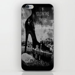 You can take the Girl out of the city ... iPhone Skin