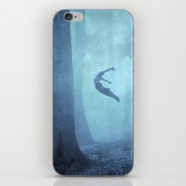 free spirit II iPhone Skin