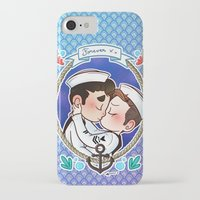 sailor iPhone & iPod Cases featuring Sailor by Sunshunes