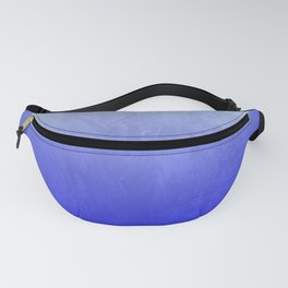 Blue Ice Glow Fanny Pack