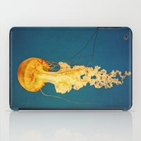 jellyfish iPad Cases featuring Jellyfish by Retro Love Photography