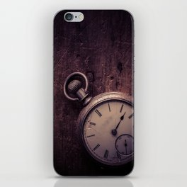 Stopping Time iPhone Skin