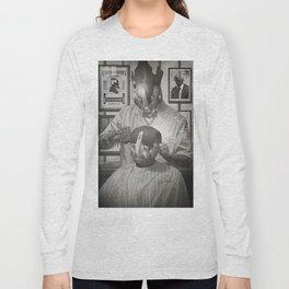 Cyber Barber Long Sleeve T-shirt
