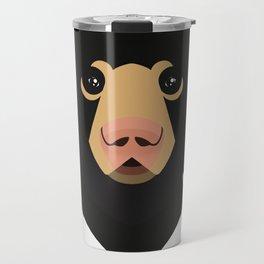 Sloth bear Travel Mug