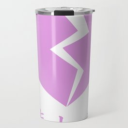 BROKEN HEART - SAD JAPANESE ANIME AESTHETIC Travel Mug