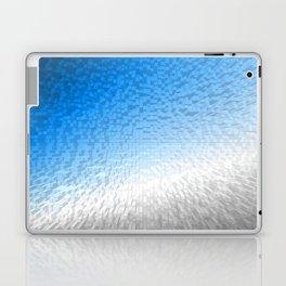 Grey and Blue Laptop & iPad Skin