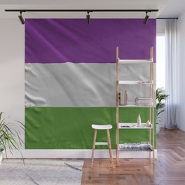 SUFFRAGETTE FLAG Wall Mural