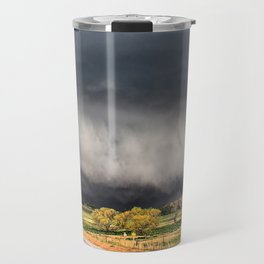 Tornado Day - Storm Touches Down in Northwest Oklahoma Travel Mug