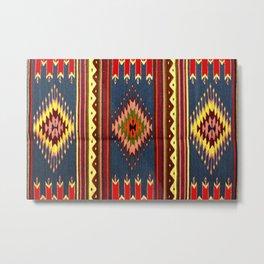 vintage tapis Metal Print