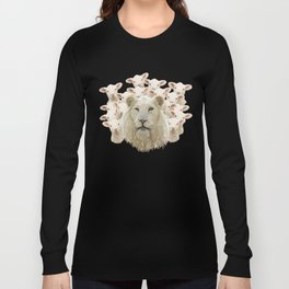 Lambs led by a lion Long Sleeve T-shirt
