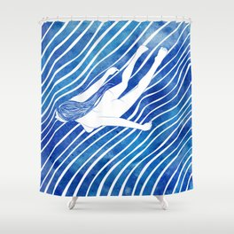 Water Nymph LXIV Shower Curtain