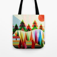 camouflage Tote Bags featuring Camouflage by milanova